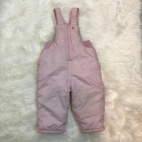 Up To 3 Months Clothes, Shoes & Accessories Helpful Baby Gap Girls Pink Dungarees